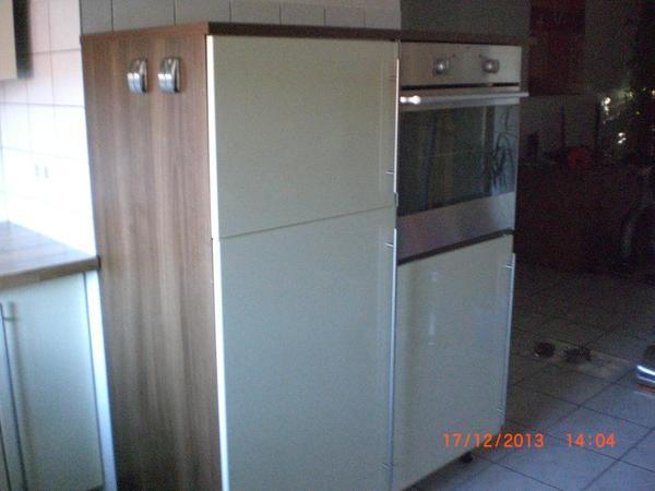 Hochwertige küchenzeilen  Hochwertige Küchenzeile Hochglanz Vanille/Noce in Speyer ...