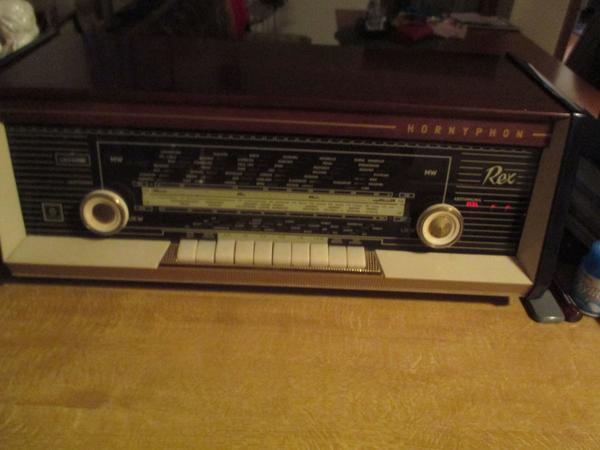 Hornyphon REX Röhrenradio