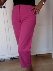 Hose Caprihose Gr 36 pink