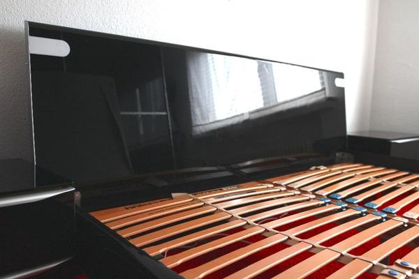 Hülsta Metis Neuwertiges Bett In *klavierlack* *schwarz* In, Schlafzimmer