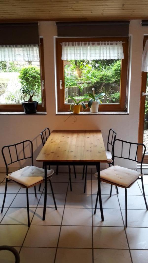 ikea antn s esstisch inkl 4 st hlen in bochum ikea m bel kaufen und verkaufen ber private. Black Bedroom Furniture Sets. Home Design Ideas