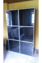 ikea vitrine schwarz haushalt m bel gebraucht und neu kaufen. Black Bedroom Furniture Sets. Home Design Ideas