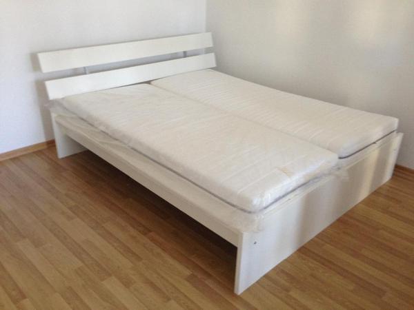 ikea bett 1,40 x 2,0 m komplett in münchen - betten kaufen und ... - Ikea Betten