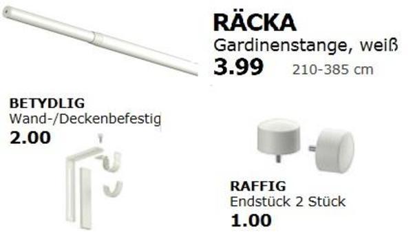 IKEA Gardinenstange * FP: 5,- in München - Alles Mögliche kaufen und ...
