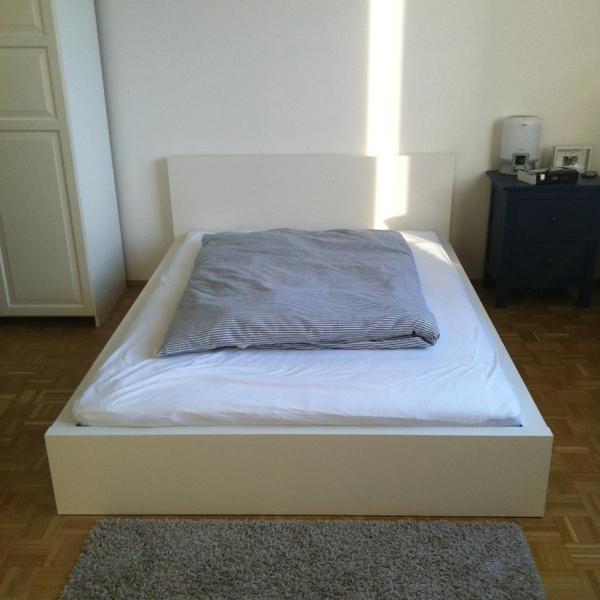 ikea malm bett und matratze hamarvik 140x200 in münchen - betten ... - Ikea Betten