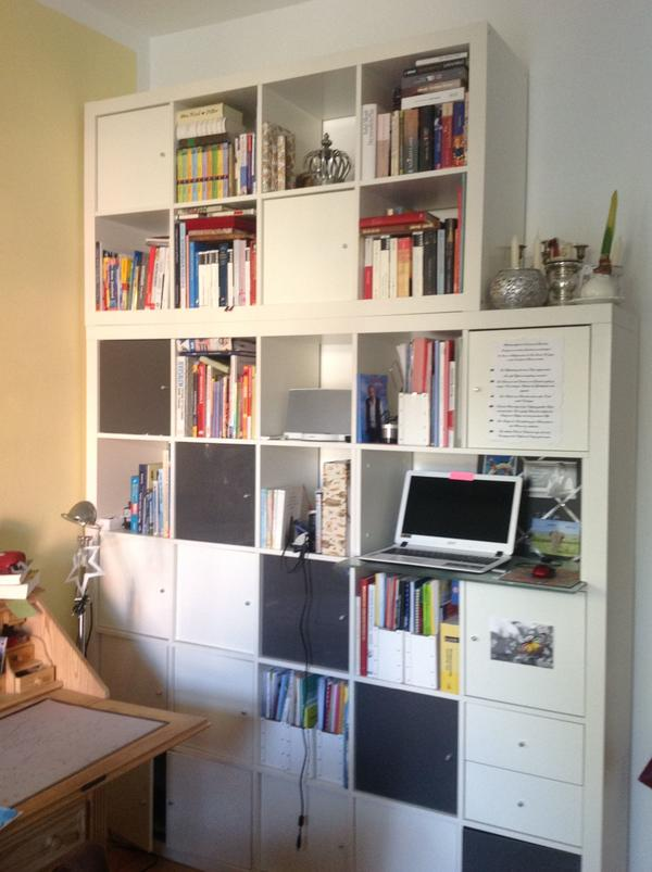 Ikea möbel regale  Ikea-Regal Expedit, 5x5 weiß und/oder 2x4 in München - IKEA-Möbel ...