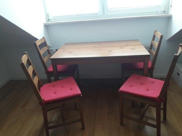 ikea tisch stuhlen gebraucht kaufen nur 3 st bis 70. Black Bedroom Furniture Sets. Home Design Ideas