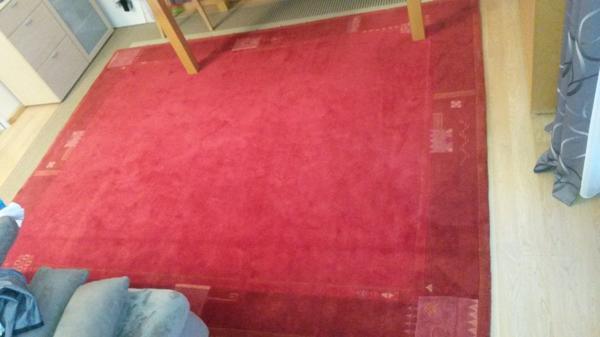 Indo Nepal Teppich 100% Wolle, Gebraucht - Trier - Indo Nepal Teppich 100% Wolle, GebrauchtFarbe Rot Größe 250 X 300 Neupreis EUR 850,00Nichtraucherhaushalt - keine Tiere - TOP-ZustandFlorhöhe ca. 2 cmPrivatverkauf unter Ausschluß jeglicher Gewährleistung, Garantie und Rücknahme. Nur Abholun - Trier