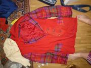 Jacke Rot und Rocke