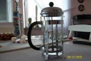 Kaffeedruckkannen-Set 7tlg 4 Gläser Zucker