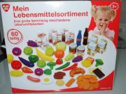 Kaufladen/Spielküche 60tlg.