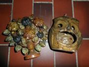 Keramik-Eule Windlicht,