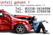 KFZ Gutachten Unfallanalyse