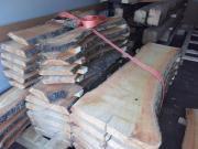 Kirschbaum Holz gesägt