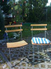 Klapp-Gartenstühle
