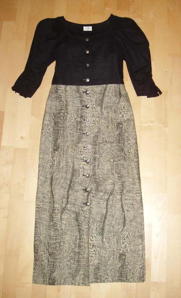 Kleid / Trachtenkleid Gr. 36 - ALBA Moda Creation - Nürnberg Schniegling - Verkauft wird ein traumhaftes hochwertiges Trachtenkleid von Alba Moda Creation Gr. 36. Das Oberteil ist schwarz mit hübschen Puffärmeln, die am Ärmelende geschnürt werden. Der Rock des Kleides ist grün gemustert und hat unten - Nürnberg Schniegling