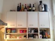 kleine ikea küche weiß mit holzplatte in münchen - küchenmöbel ... - Ikea Küche Einzelelemente