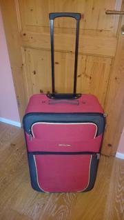 Koffer rot travelite mit Rollen