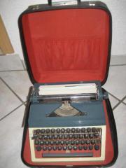 Kofferschreibmaschine Schreibmaschine Erika Modell 30