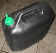 Kraftstoff Behälter Schwarz 20 Liter