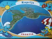 Kroatien insel Kaprije,