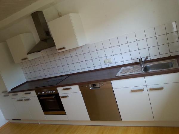 küchenzeile küche erst 7 monate alt v. segmüller inkl geräte
