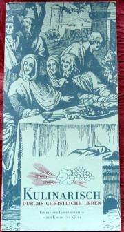 Kulinarisch durchs christliche Jahr-ein kleiner