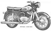 KULT Zündapp Motorrad 250 S-1951IN