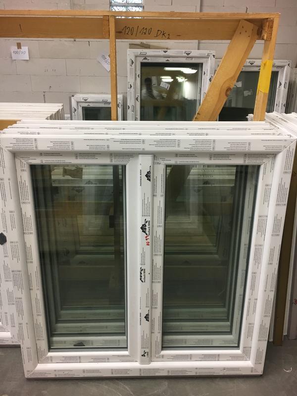 Fenster Essen kunststofffenster fenster seebach 8000 120x120 cm weiß 2flg in