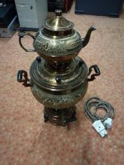 Kupfer Teemaker Semaver
