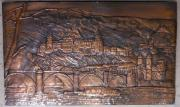 Kupferbild Heidelberg Heidelberger Schloss