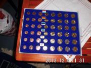 Kursmünzen Satz Estland 2011