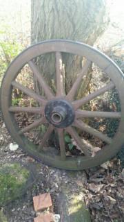 Kutschen Rad Antik