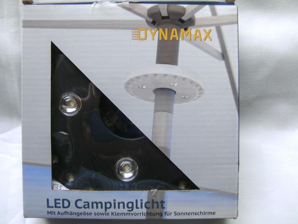 LED-SONNENSCHIRMBELEUCHTUNG;