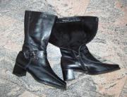 Leder Stiefel Gr 39 TAMARIS -