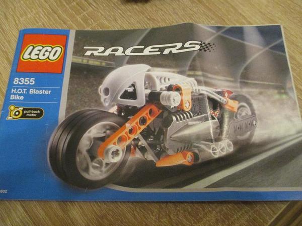 Lego 8355 Racers - Hot Blaster