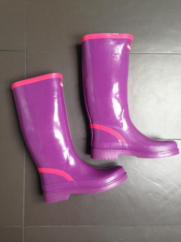lila funky Gummistiefel » Schuhe, Stiefel