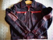 Mädchenbekleidung Jacke Jeansjacke