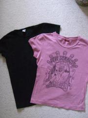 Mädchenbekleidung Shirts 2 Stück Gr
