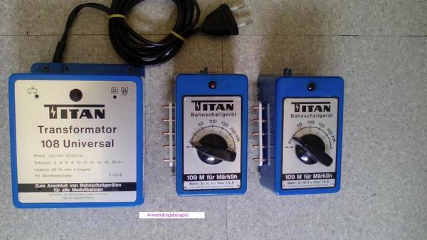 Märklin - kompatibel Titan Trafo 108
