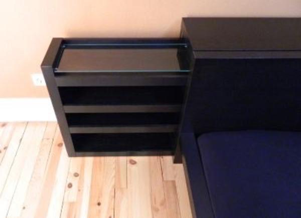 malm kopfteil für ikea malm bett 140cm schwarz/braun in schefflenz, Moderne deko