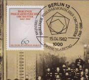 Maximumkarte Berlin Philharmonisches Orchester 1982