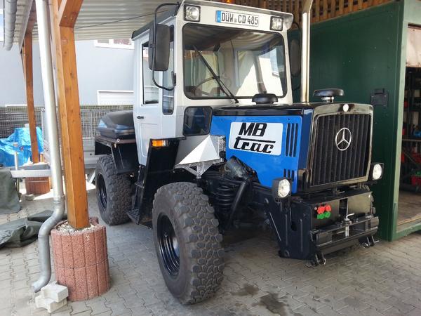 mb trac 700 k in ellerstadt traktoren. Black Bedroom Furniture Sets. Home Design Ideas