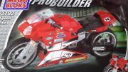 Mega Block großes Motorrad NEU