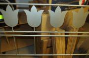 Metalbett Tulpen mit