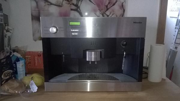 Miele einbau kaffeevollautomat mit festwasseranschluss