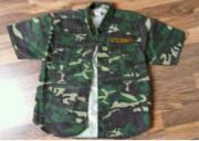 Militär Kinderhemd Größe 146 152