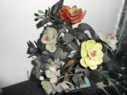 Mineralien Blumenstrauß v Landshuter Mineralienmesse