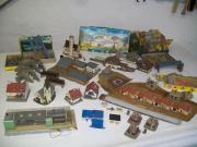 Modell-Eisenbahn-Häuser