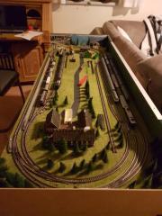 modelleisenbahn anlage spur